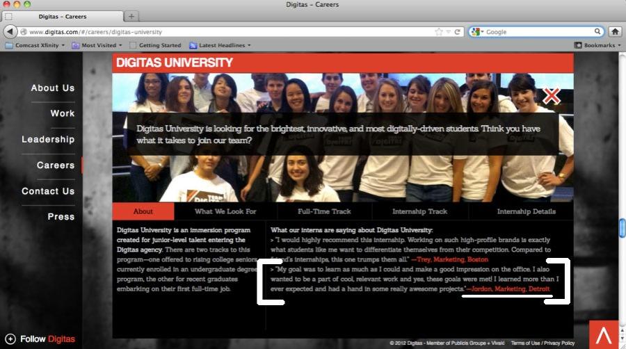 DigitasUniversityPage